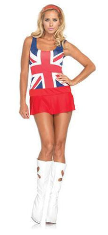 Costumes - Cheeky Brit Costume Womens
