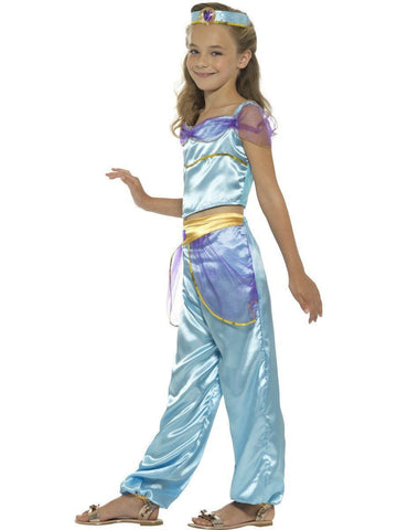 Arabian Princess Jasmine Book Week Girls Costume profile