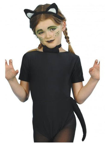 Costumes Chlidren - Black Cat Halloween Costume Kit Children