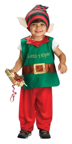 Costumes Chlidren - Christmas Elf Lil' Elf Children's Costume
