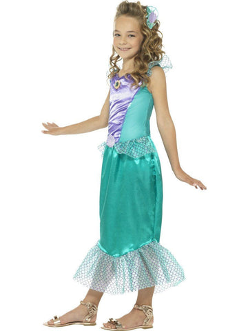 Deluxe Little Mermaid Princess Girls and Tween Size Costume profile