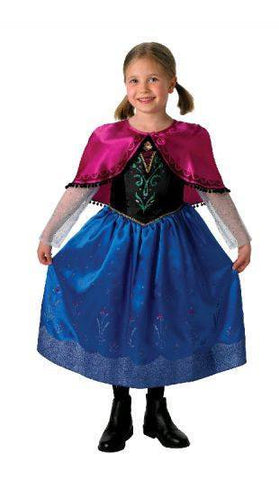 Costumes Chlidren - Frozen Deluxe Anna Girls Costume For Sale