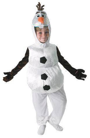 Costumes Chlidren - Frozen Olaf The Snowman Children's Costume For Sale