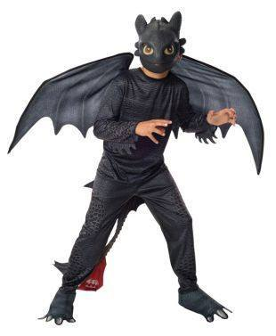 How To Train Your Dragon 2 Toothless Childrens Costume