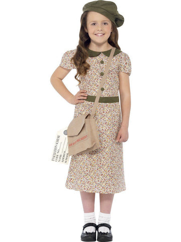 Old Fashion Wartime Orphan Depression Girl Book Week Character Costume