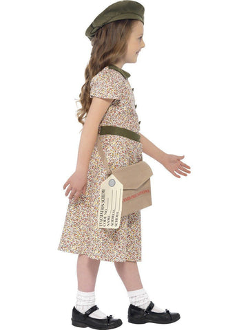 Old Fashion Wartime Orphan Depression Girl Book Week Character Costume profile