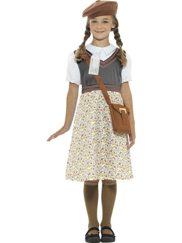 Old Fashion Wartime School Girl Book Week Character Costume