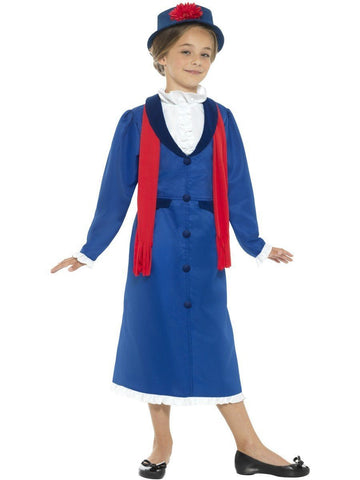 Victorian Nanny Girls Mary Poppins Book Week Character Costume