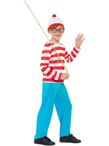 Where's Wally Boys Book Week Fancy Dress Costume