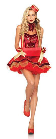 Costumes - Cigarette Girl Red Womens Costume
