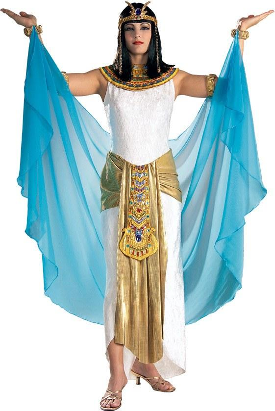 sc 1 st  Disguises Costumes & Cleopatra White and Blue Womens Hire Costume