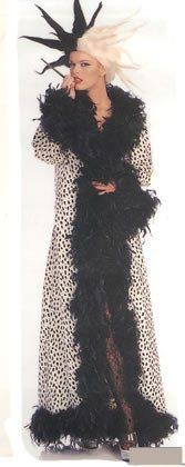 Costumes - Cruella Feathers Womens Hire Costume