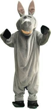 Donkey Adult Mascot Hire Costume