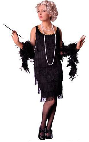 Costumes - Flapper Full Fringing Long Womens Costume