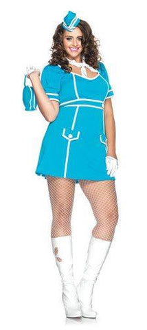Costumes - Flight Attendant Classique Plus Womens Costume