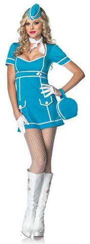 Costumes - Flight Attendant Classique Womens Costume