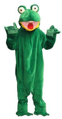 Frog Adult Mascot Hire Costume