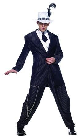 Costumes - Gangster Pimp Mens Costume