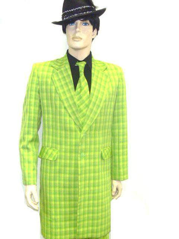 Costumes - Gangster Zoot Suit Green Mens Costume