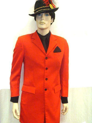 Costumes - Gangster Zoot Suit Red Mens Costume