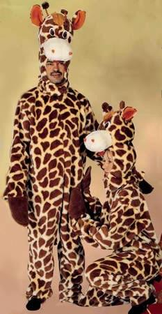 Giraffe Adult Hire Costume