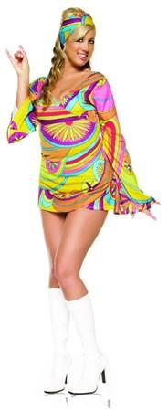 Costumes - Go Go Girl Wild Child Plus Womens Costume