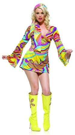 Costumes - Go Go Girl Wild Child Womens Costume