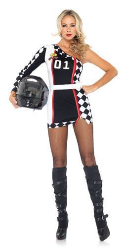 grid girl costume womens hire costumes and fancy dress. Black Bedroom Furniture Sets. Home Design Ideas