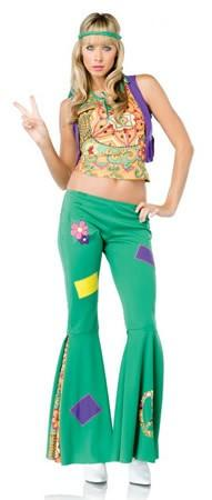 Costumes - Hippy Aquarius Girl Womens Costume