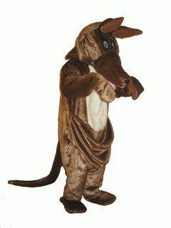 Kangaroo Adult Mascot Hire Costume