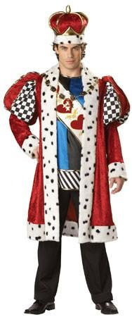 Costumes - King Of Hearts Deluxe Mens Costume