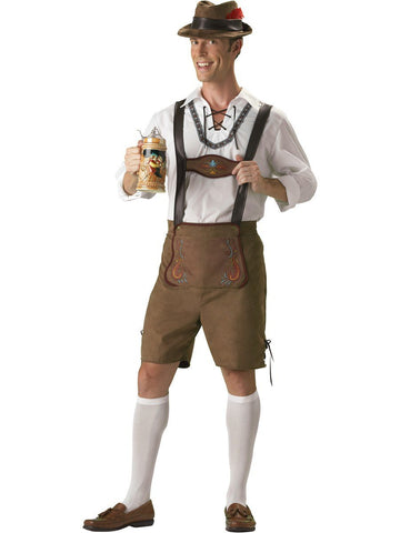 Hire Oktoberfest Costume Lederhosen Men Brisbane