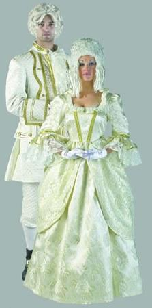 Costumes - Louis XVI Creme And Gold Costume Mens