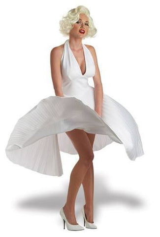 Costumes - Marilyn Monroe White Womens Costume