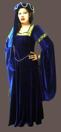 Costumes - Medieval Imperial Princess Womens Costume