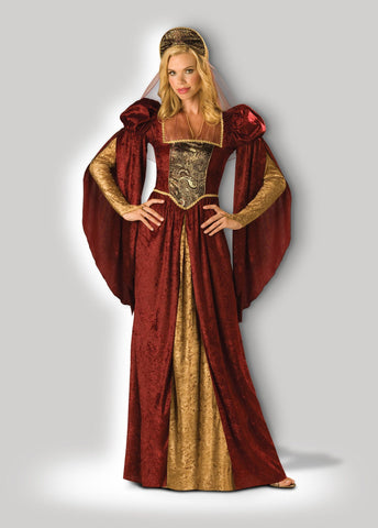Costumes - Medieval Lady Celeste Womens Hire Costume