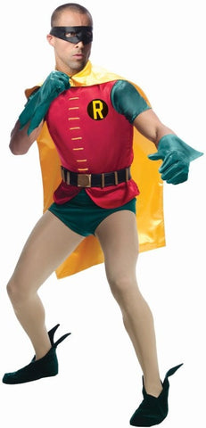 Costumes Men - Batman Classic TV Series Robin Adult Costume