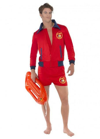 Red Baywatch Lifeguard Costume