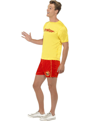 Baywatch Lifeguard Men's Beach Patrol Fancy Dress Party Costume