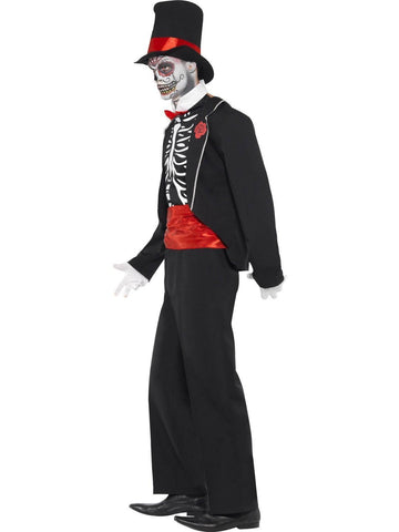 Day Of The Dead Men's Mexican Costume