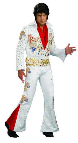 Elvis Presley Hire Costume Collector's Edition American Eagle Aloha Fancy Dress