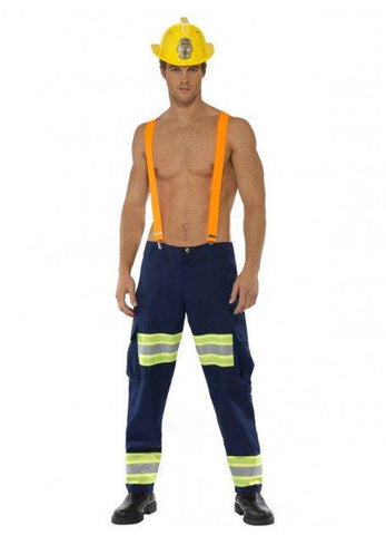 Costumes Men - Firefighter Mens Costume