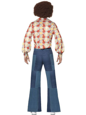 Costumes Men - Flares Patchwork Denim Flares