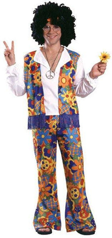 Costumes Men - Hippie Dippie Adult Hippy Costume