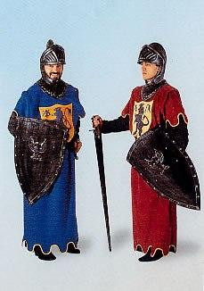 Costumes Men - Knight Blue Mens Costume