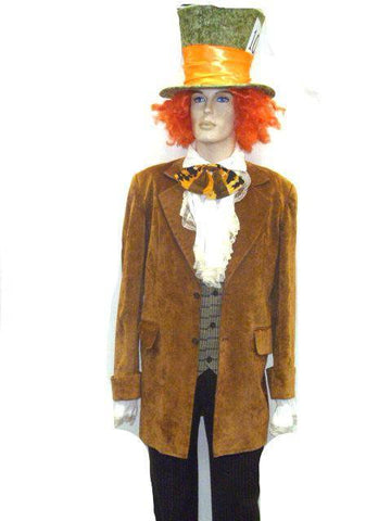 Costumes Men - Mad Hatter Mens Costume For HIre