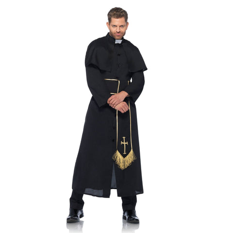 Costumes Men - The Exorcist Priest Adult Hire Costume