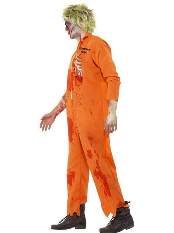 Costumes Men - Zombie Death Row Inmate Men's Halloween Costume For Sale