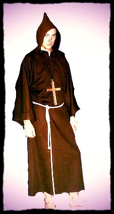 Costumes - Monk Costume For Hire