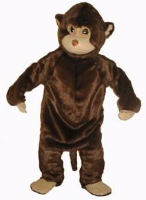 Costumes - Monkey Adult Mascot Costume
